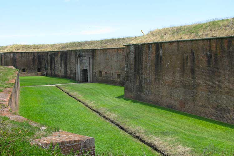 Fort Morgan Alabama Historical Site
